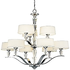 Persuasion 2-Tier Chandelier by Kichler: Crystals, Lights, Dining Room ...