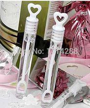 24 pz/lotto vuoto bolla di sapone bottiglie di nozze birthday party decoration baby shower favori forniture evento(China (Mainland))