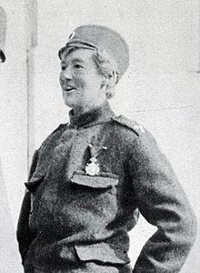 Flora Sandes (22 January 1876 – 24 November 1956) was the only British woman officially to serve as a soldier in World War I.