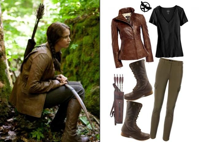Awesome DIY Katniss Everdeen Halloween Costume