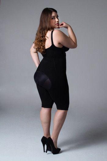 black long shapewear 2