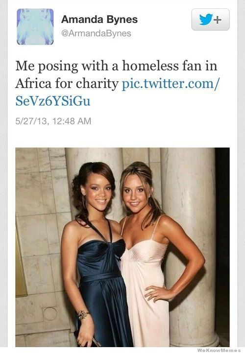 This is funny as hell... Too bad the real Amanda Bynes didn't actually post it.