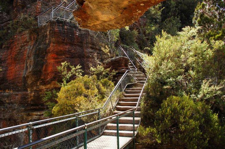 Echo Point Giant Stairway, Katoomba NSW