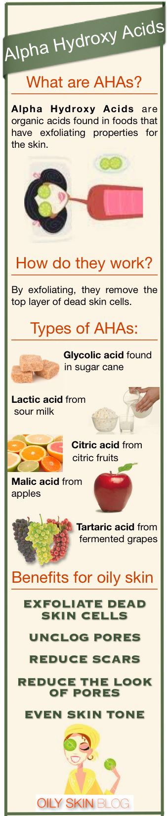Alpha Hydroxy Acids #Arbonne uses these in our products! (contact Kimberley Miller-Medley on Pinterest)
