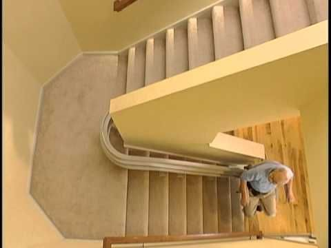 14 best handicapped accessible stairway images on for 2 story wheelchair lift