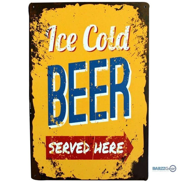 "Vintage Metal Sign ""Ice Cold.., Coffee Menu, Route 66, etc"" Pub Wall Decor"