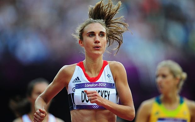 She had dreamed of atoning for her fourth-place finish at the last Olympic   Games in Beijing but Lisa Dobriskey's London 2012 campaign ended in another   disappointment when she finished in 10th place in the final. Fellow Briton   Laura Weightman was one place behind her.