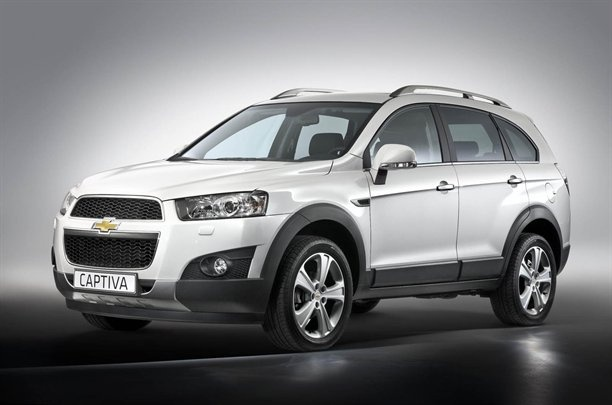 Chevy Captiva -- small SUV with small engine