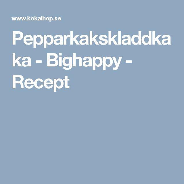 Pepparkakskladdkaka - Bighappy - Recept