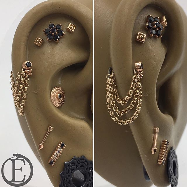 263 best Rook piercing and jewelry images on Pinterest Piercing