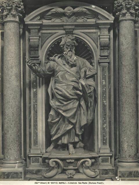 San Paolo. Giuliano Finelli.  1639. Duomo di Napoli