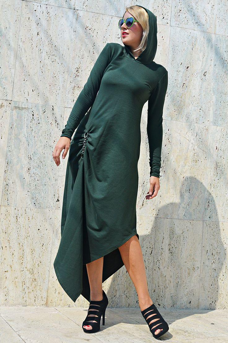 Now trending: Forest Green Maxi Dress, Army Hooded Dress, Green Maxi Hoodie TDK271, Asymmetrical Hooded Dress by TEYXO https://www.etsy.com/listing/549438213/forest-green-maxi-dress-army-hooded?utm_campaign=crowdfire&utm_content=crowdfire&utm_medium=social&utm_source=pinterest