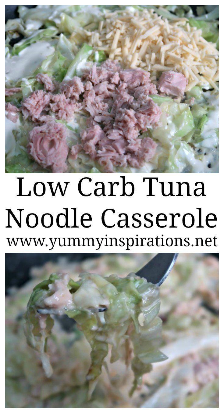 Low Carb Tuna Noodle Casserole