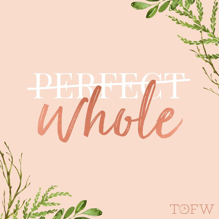 "In Terryl and Fiona Givens' new book, 'The Christ Who Heals,' they remind us that, even though the scriptures say ""Be ye therefore perfect,"" a more accurate translation would be, ""You will be whole."" What do you do when the pressure of being ""perfect"" gets to you, and you just need to remember to focus on being whole?"