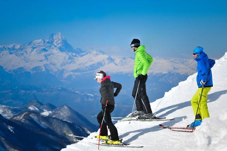 Sciare immersi nella natura nella Riserva Bianca di Limone Piemonte