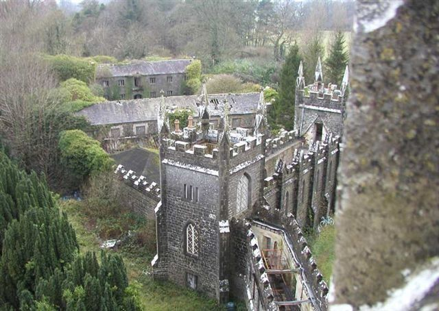 The Haunted Castle, Charleville Castle. Located in County Offaly, in the Midlands of Ireland, and bordering the town of Tullamore near the Shannon River.
