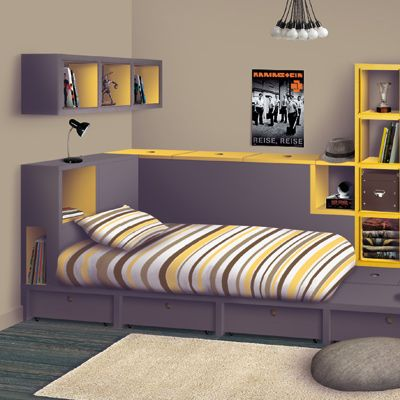 17 best images about chambre lenny on pinterest coins for Chambre en desordre
