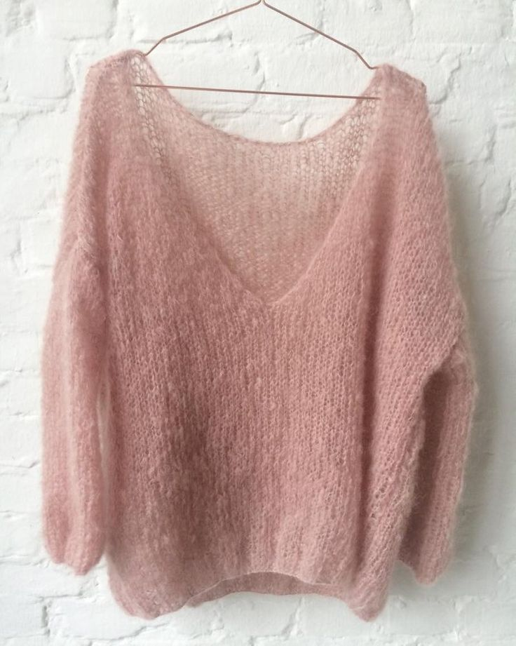 Soft mohair pullover by Patkas