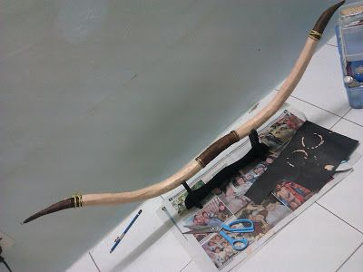 【Tutorial】How to make Merida's (from Pixar BRAVE) bow and arrows