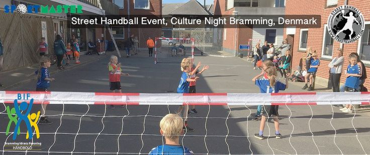 The first street handball event in Bramming, Denmark was a success, How to play with fairplay rules