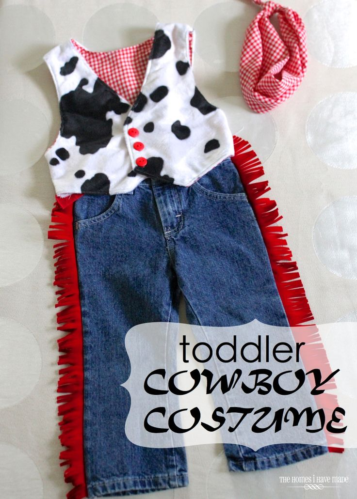The Homes I Have Made: Toddler Cowboy Costume