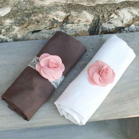 rond de serviette pour mariage baby shower bapt me napkin rings napkin decoration for. Black Bedroom Furniture Sets. Home Design Ideas
