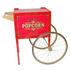 Street Vendor Commercial Popcorn Cart Only