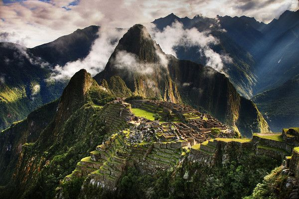 Machu Picchu, Peru  Been there for its 100th anniversary