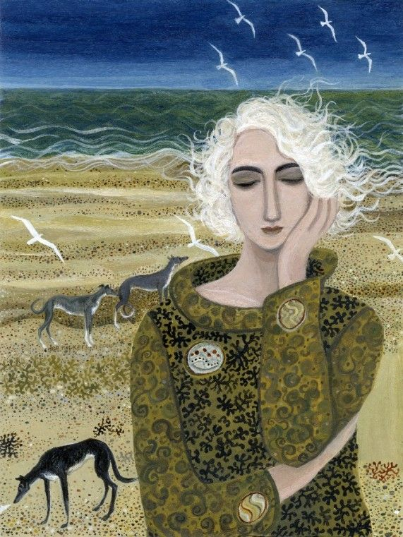 Thinking - Dee Nickerson - Southwold Gallery