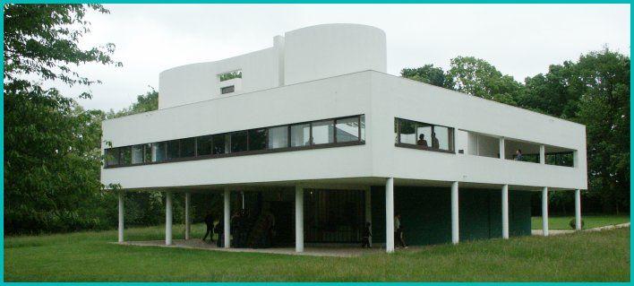 Le Corbusier bldg: Villa Savoie, Poissy, France 1929