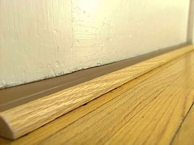 How to Install a Door Threshold with Vinyl Bulb #stepbystep: Window