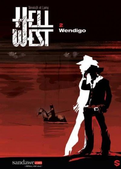 Couverture Hell west tome 2 - wendigo
