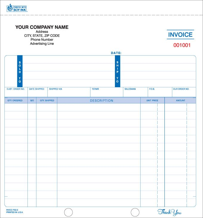 Best Invoice Forms Images On   Business Checks