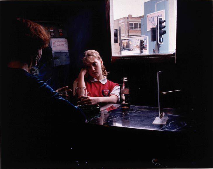 Hannah Starkey - Untitled - October 1998  1998 C-type print 122 x 152 cm  http://www.pinterest.com/sannacharles/art-for-inclusion-2014/