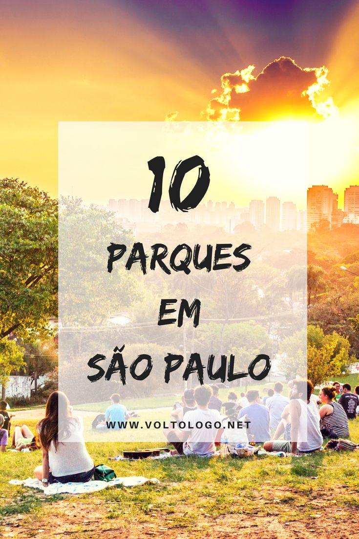 10 parques que você precisa conhecer em São Paulo