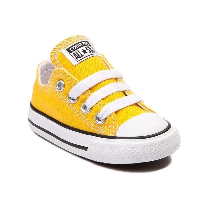 Converse Chuck Taylor All Star Lo Sneaker Baby Toddler Lemon