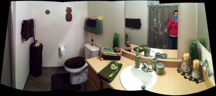 Spa themed bathroom dazzlin up mi casa pinterest spa for Spa themed bathroom ideas