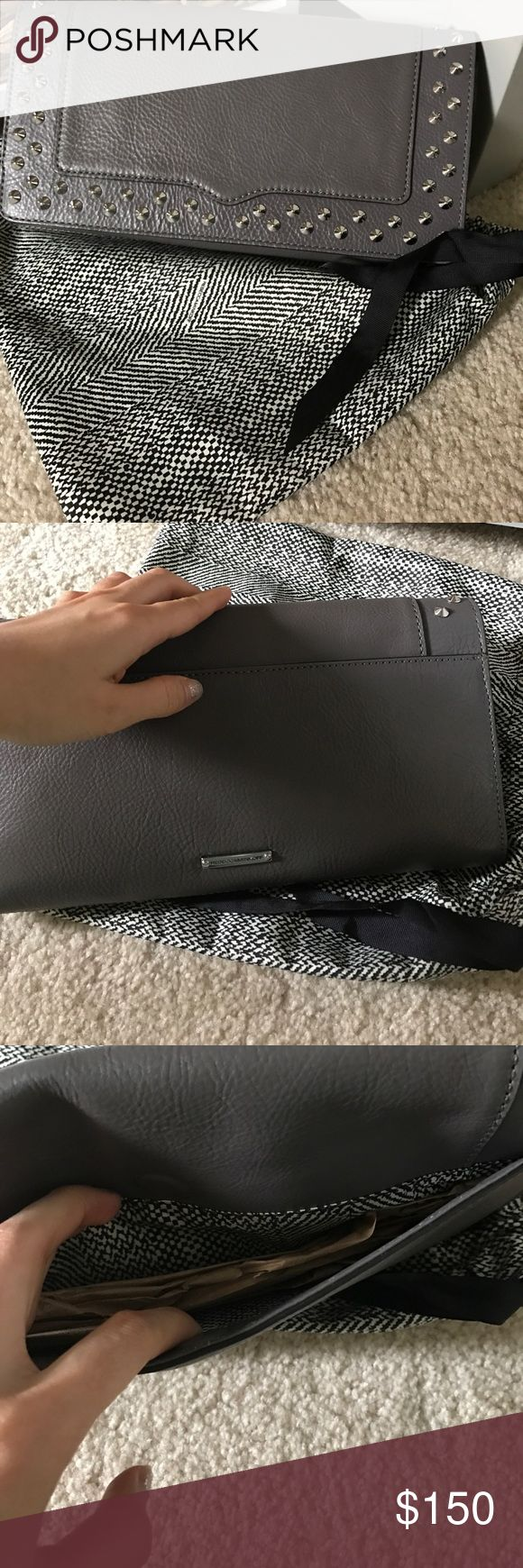 Nwt rebecca minkoff clutch 👛 Beautiful. Easy to match with night out outfit or evening gown. Still selling at Nordstrom for $265. Rebecca Minkoff Bags Clutches & Wristlets
