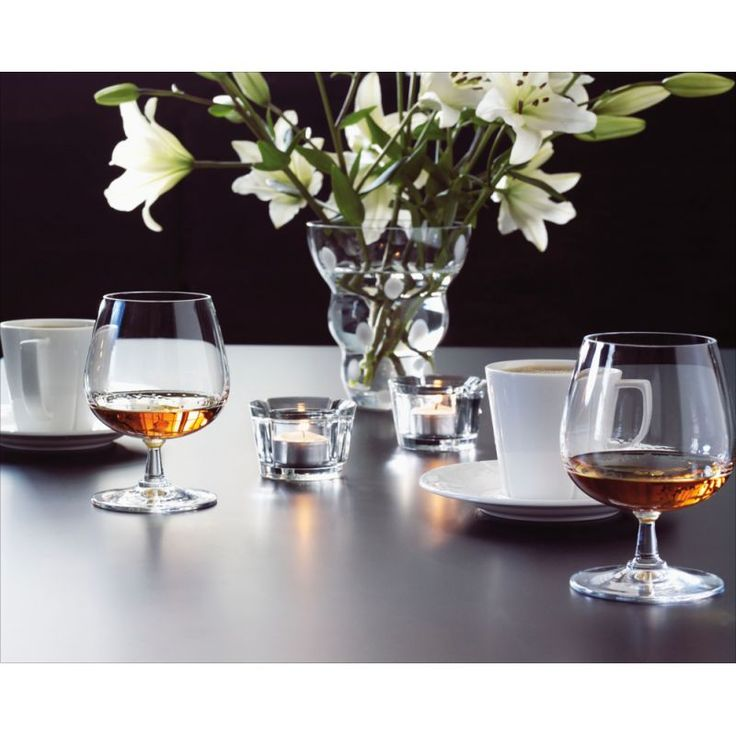 Kieliszki do brandy GRAND CRU - 2 szt. - DECO Salon. glasses of brandy #rosendahl #scandinaviandesign #giftidea