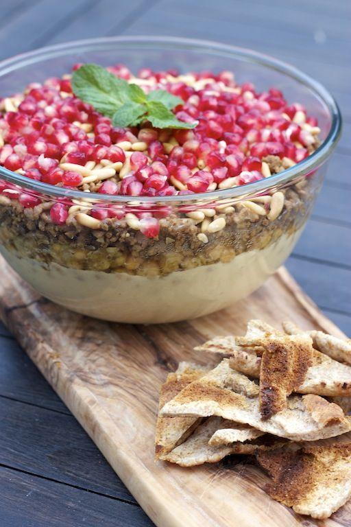 258 best middle eastern food inspiration images on pinterest lebanese layered dip lebanese cuisinelebanese recipeslayer forumfinder Gallery