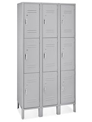 Staff lockers in Dr office area