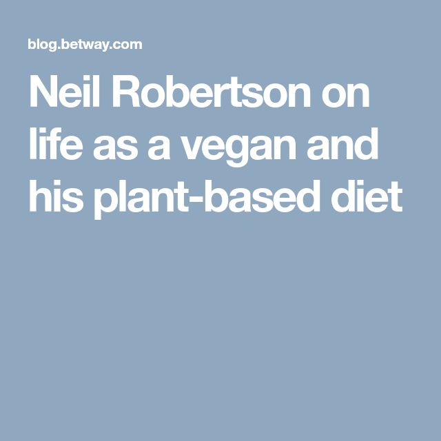 Neil Robertson on life as a vegan and his plant-based diet