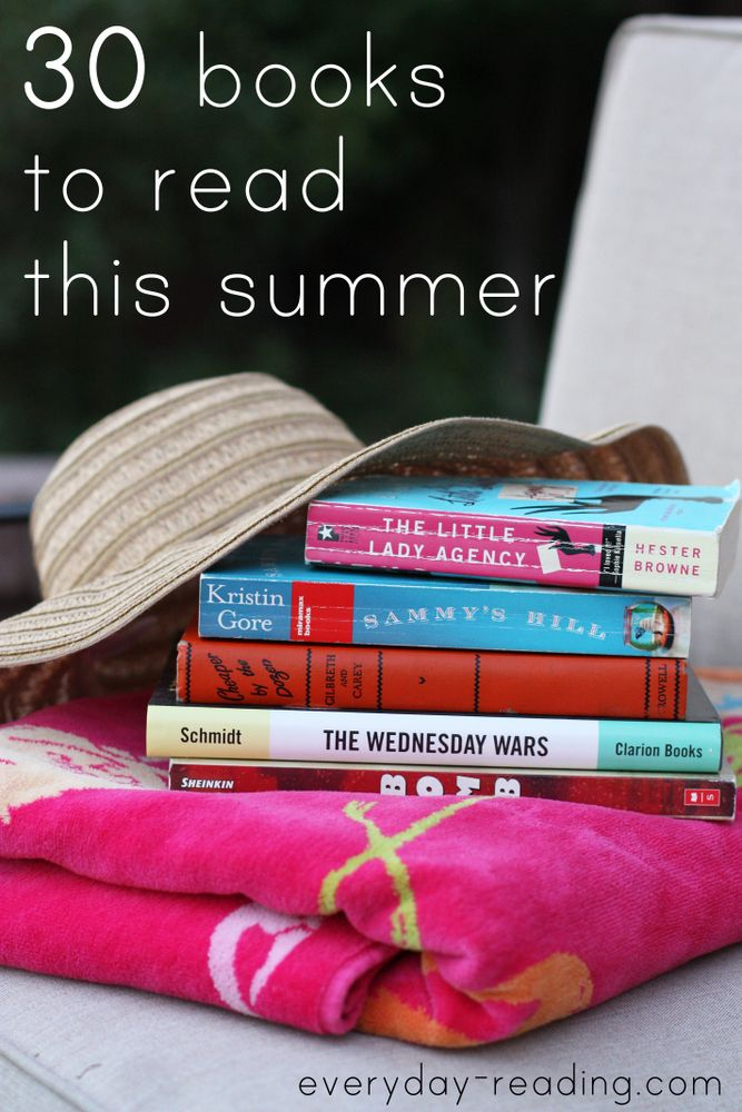 The 2014 Summer Reading Guide. From chick lit to non-fiction to books to read aloud with your kids, there's something for everyone here! via Everyday Reading
