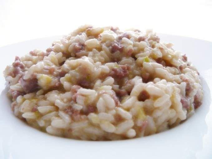 Ricetta Portata principale : Risotto ai porri e salsiccia da Chiamig