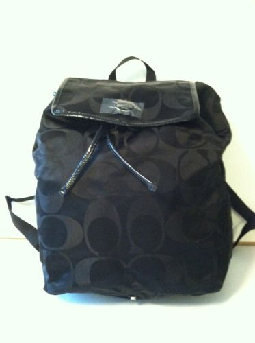 COACH SIGNATURE NYLON PACKABLE BACKPACK on sale for $129.99 at blomming.com/mm/giaconisboutique/items