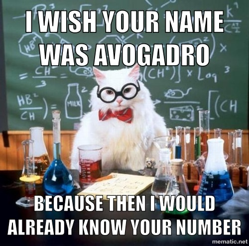 Nerdy pick up line