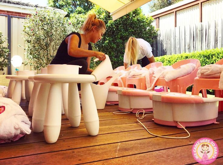 """39 Likes, 2 Comments - We Came Here To Party (@wecameheretopartyaus) on Instagram: """"💅🏽Girl Pamper Party💅🏽 The perfect Pamper Party Patio! We Came here to Party is in its 8th year of…"""""""