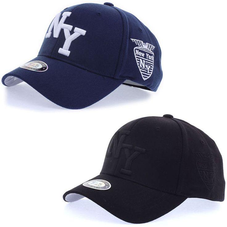 Unisex Mens Women New York NY Logo Flexfit Baseball Cap Stretch Fit Trucker Hats #hellobincom #BaseballCapHats
