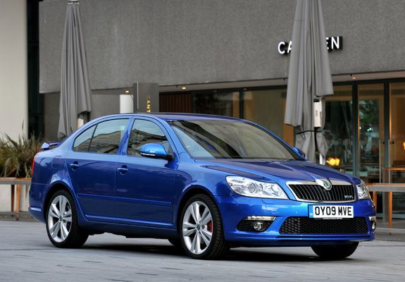 Škoda Octavia vRS (1Z) 2009–13