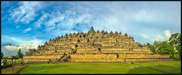 Borobudur Temple, Central Java